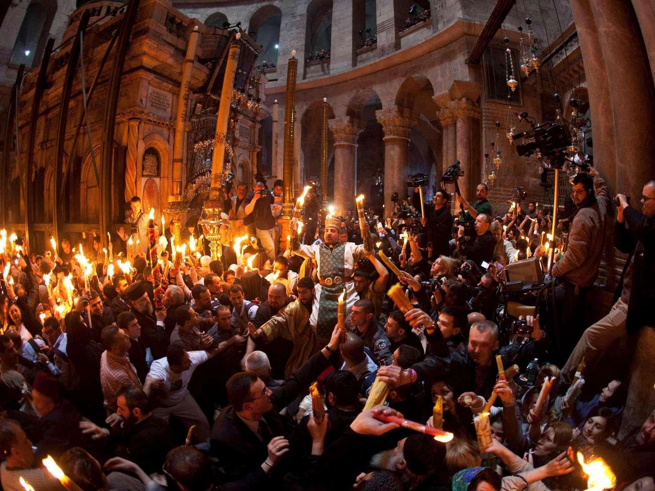 иерусалим фото колонны святого огня сегодняшний день