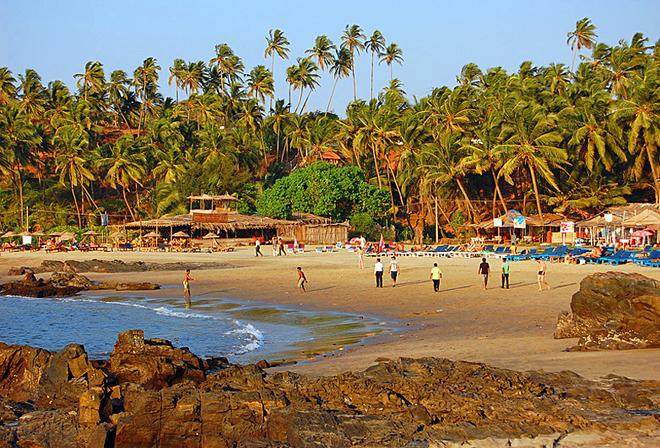 Курорти Гоа: Вагатор