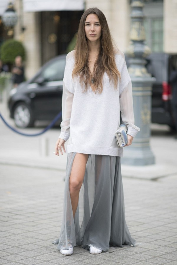 6 способів носити максі-спідницю і виглядати модно