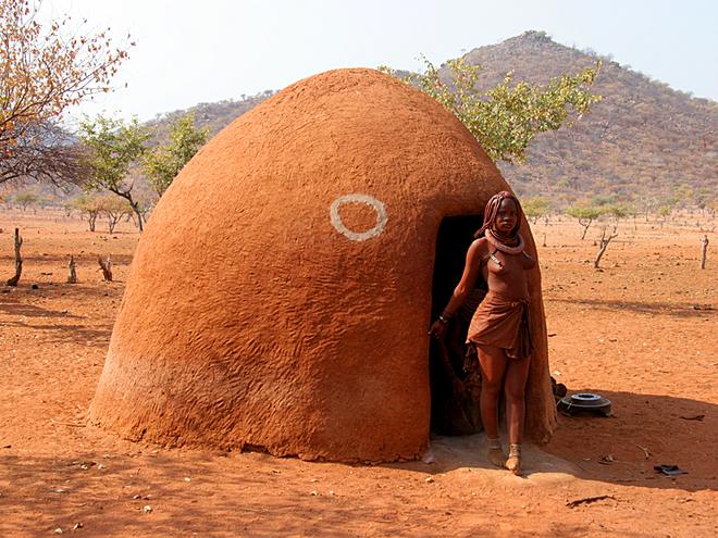 Племена, де може пожити турист: Плем'я хімба