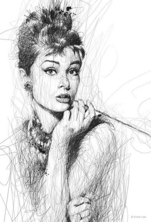 Шедевры и необычный стиль рисования от Винс Лоу