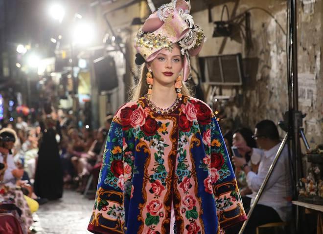 Показ Dolce&Gabbana Alta Moda осень-зима 2016/2017