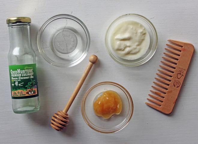 """Домашняя """"быстрая"""" маска для восстановления волос"""