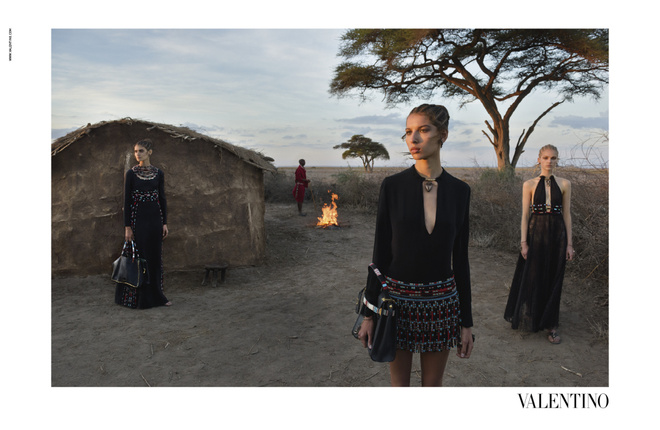 Valentino рекламная кампания ss 2016