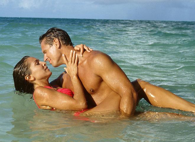 Секс под водой и пляже