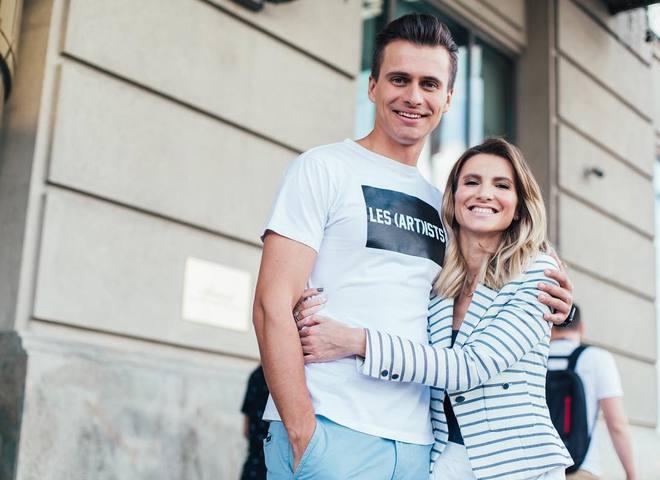 Олександр Скічко з дружиною