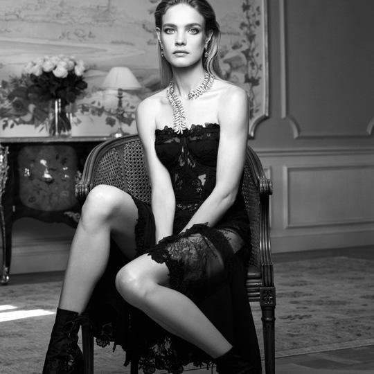Наталья Водянова на обложке испанского Vogue