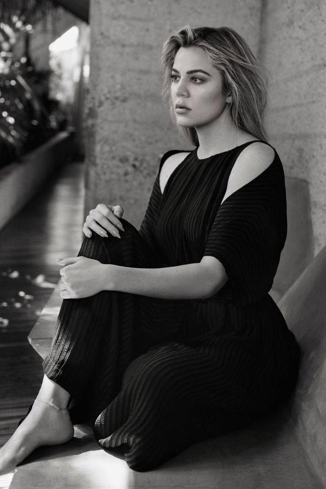 Хлоя Кардашьян для Harper's Bazaar