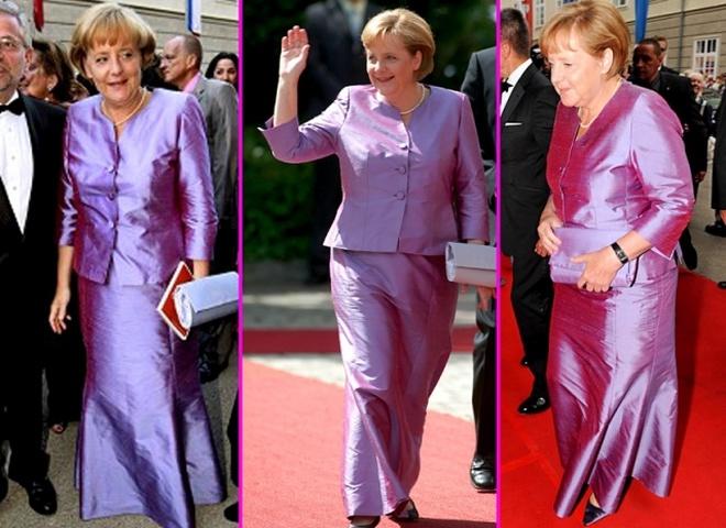 Конфуз с платьями Ангелы Меркель