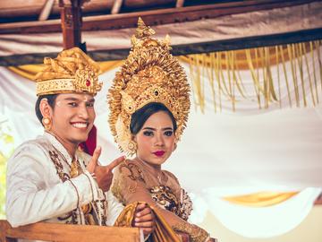 Традиційне весілля на Балі