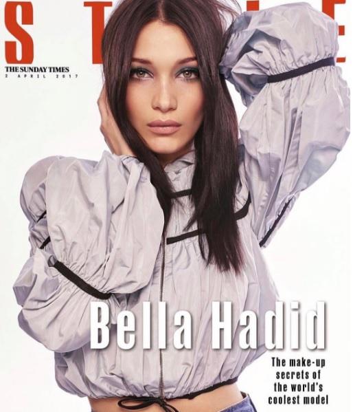Белла Хадід для The Sunday Times Style