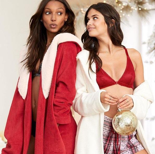 Victoria's Secret Рождественская коллекция