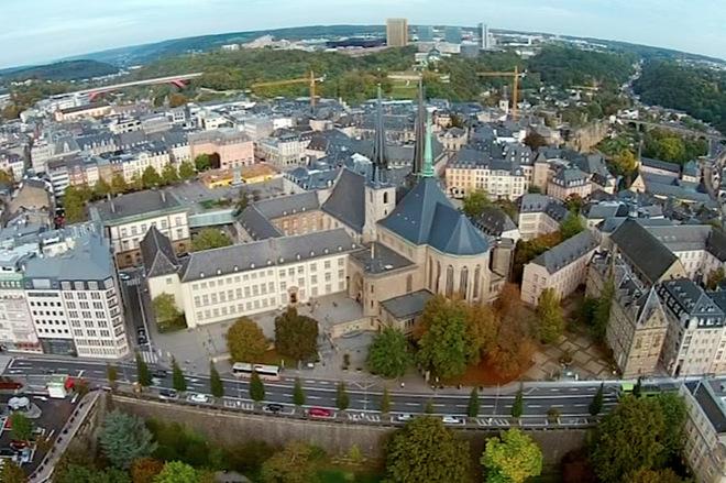 Путешествие по Люксембургу на автомобиле