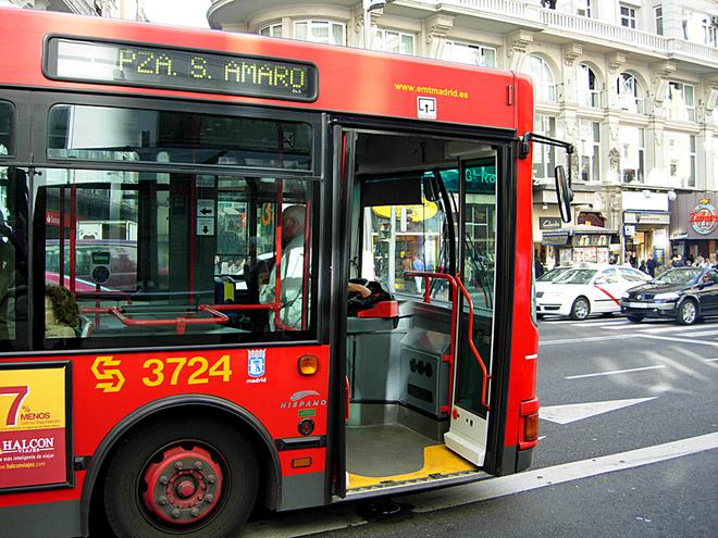Цены на транспорт - Мадрид