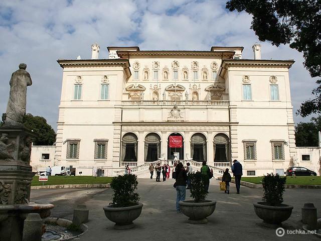 Цікаві місця Риму: вілла Боргезе
