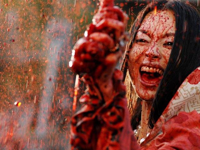 Галереи пышных кровавые фильмы ужасов промеж булок