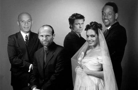Голливудские актёры в наших фильмах