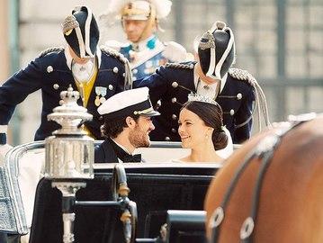 Свадьба Карла Филиппа и Софии