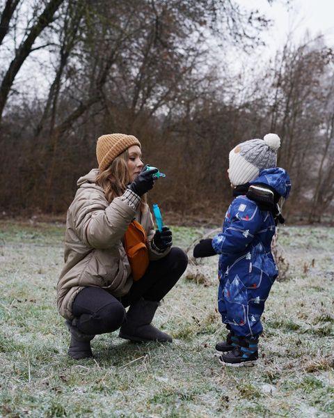 Олена Шоптенко з сином Олексієм