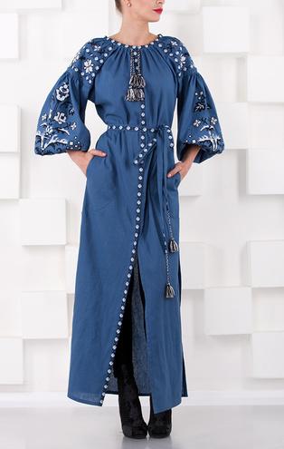 Довгі сукні на літо 2016  що пропонують українські дизайнери ... fa5bba5689609