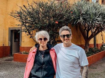 Александр Педан и его жена Инна
