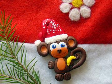 Новий рік 2016: Мавпи своїми руками