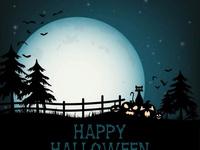 Милые открытки с Хэллоуином