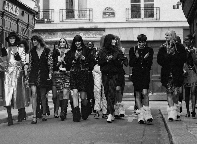 Chanel показ колекції осінь-зима 2021/22