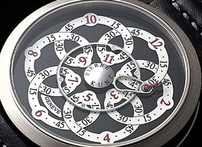 Часы-головоломка от  Pierre Kunz