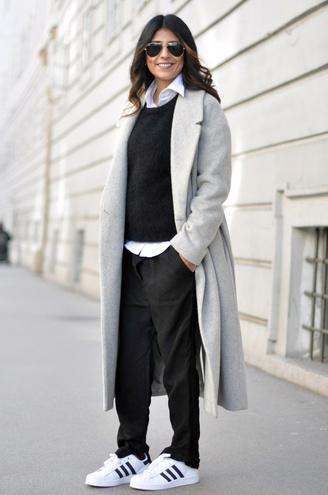 Зимові кросівки: street style