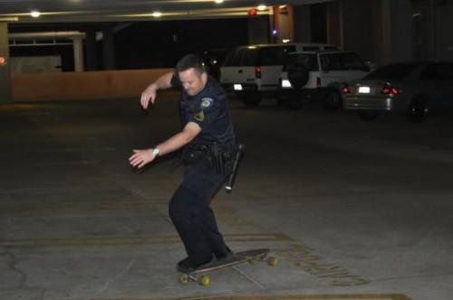 Скейтерская полиция