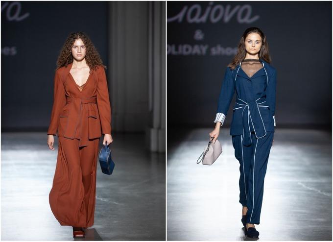 Женские брючные костюмы в коллекции украинского бренда Anna Gaiova
