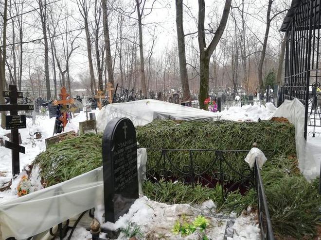 могила децла