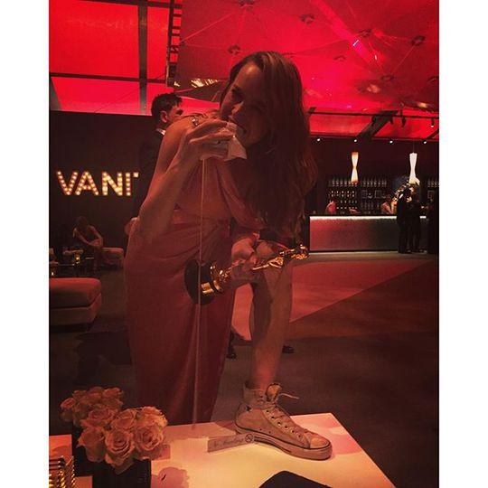 Брі Ларсон на вечірці Vanity Fair