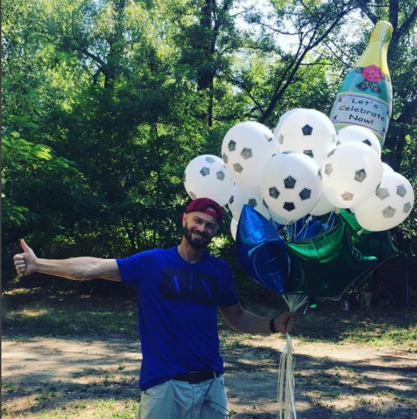 Влад Яма рассказал, как отпраздновал 35-летие (фото)