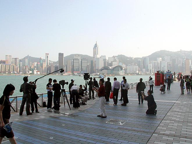 Алея зірок у Гонконгу