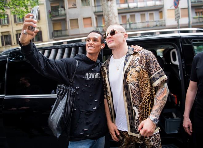 Неделя мужской моды в Милане: стритстайл