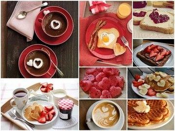Блюда к дню святого валентина