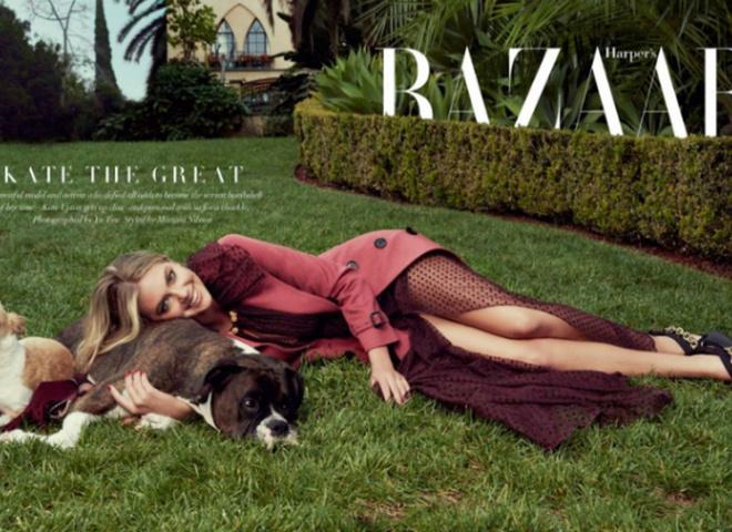 Кейт Аптон для Harper's Bazaar Singapore