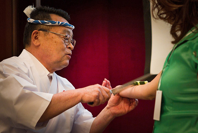 Мастер-класс по приготовлению суши