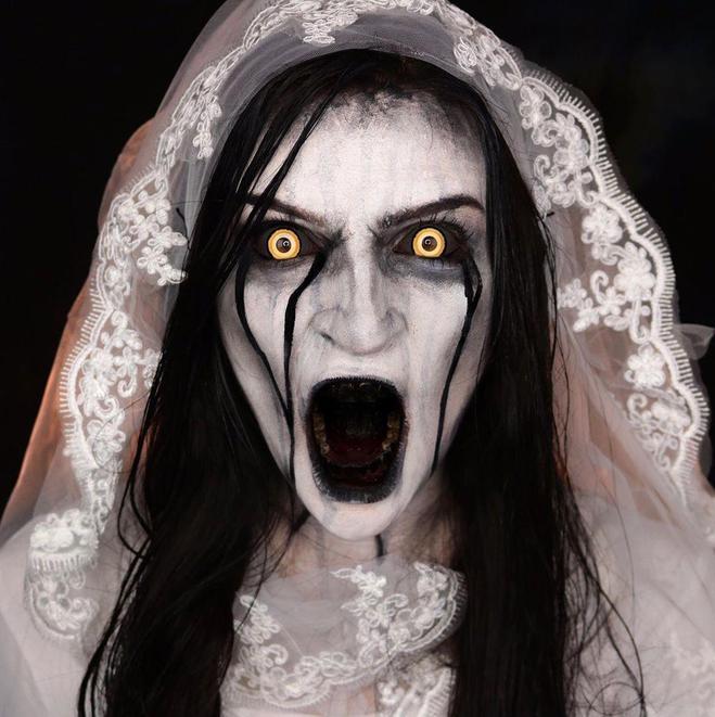 Страшный образ на Хэллоуин 2020