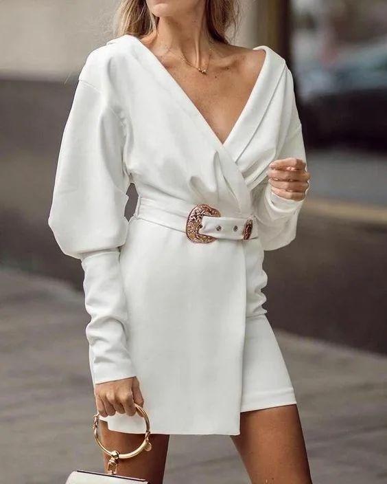 Платье-блейзер на выпускной