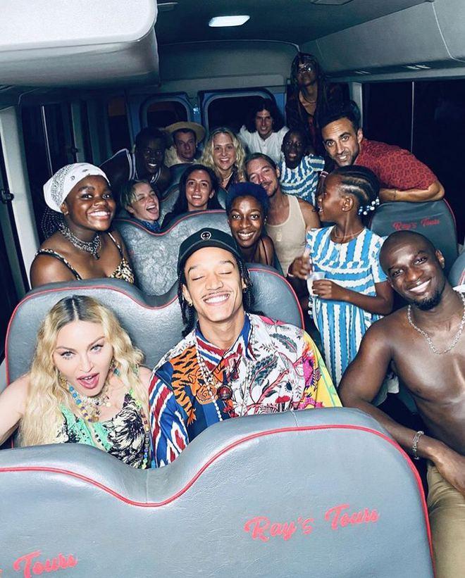 Вечеринка Мадонны на Ямайке