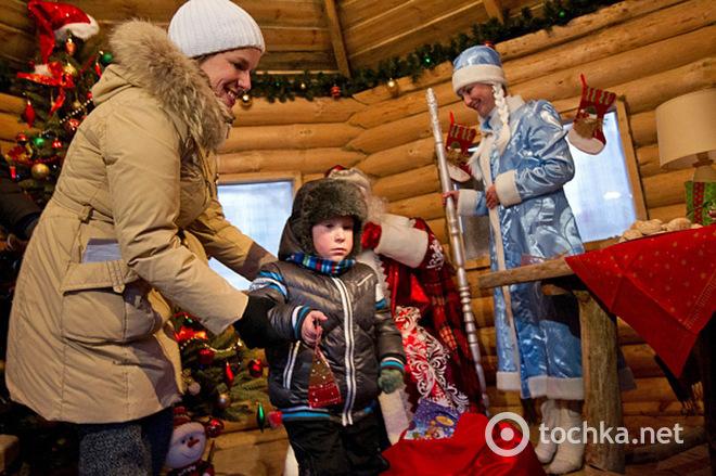Новый год под Киевом