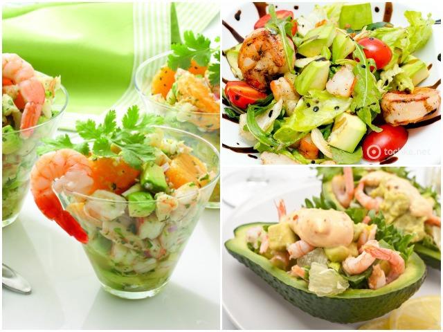 Вкусные салаты на день рождения с и рецептами с морепродуктами