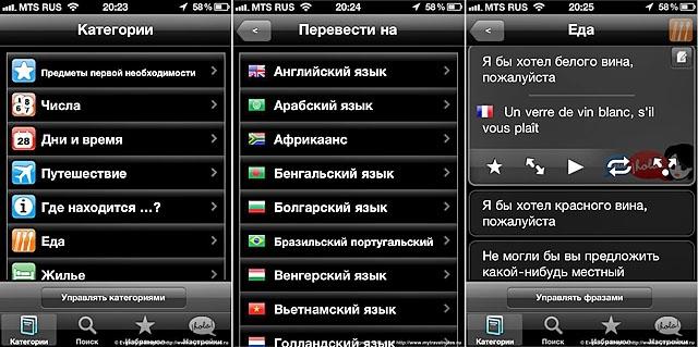 Корисні програми для мандрівника: Lingopal