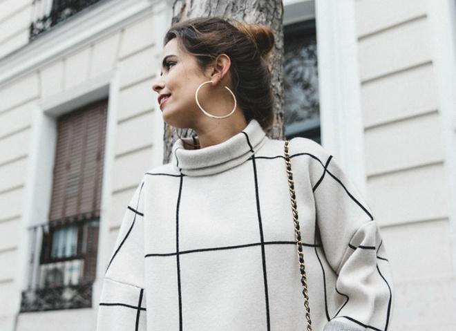 Модный тренд: круглые серьги - звезды