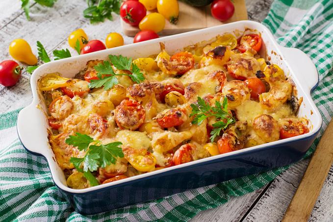 Пісні страви: рецепти запіканок з картоплею і грибами