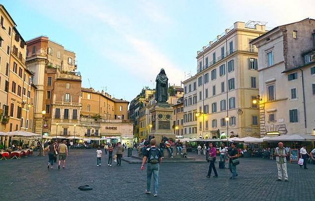 Цікаві місця Риму: Кампо ді Фьорі