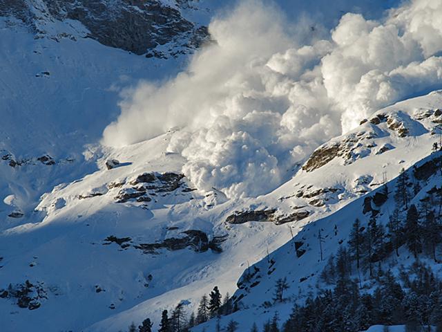 Опасные лавины